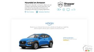 Visiting a Hyundai Dealership… on Amazon