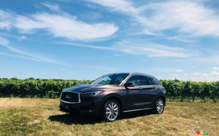 2019 Infiniti Qx50 Gets Canadian Debut Presentation Car