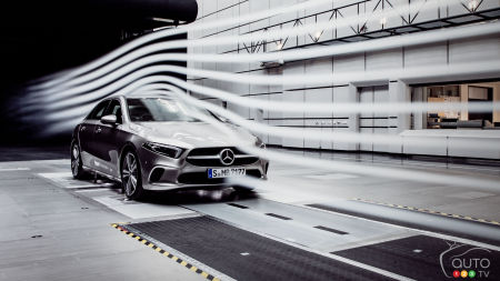 New Mercedes-Benz A-Class, the world's most aerodynamic car?