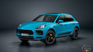 World premiere of the new Porsche Macan SUV in Shanghai
