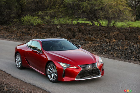 Lexus LC Coupe to Get F Performance Variant Soon