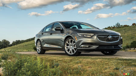 Buick Canada Confirms Regal Avenir for 2019