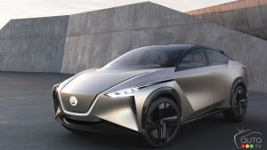 Nissan's IMx electric SUV: Still Two years away