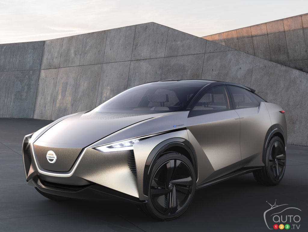 Nissans Imx Electric Suv Still Two Years Away Car News Auto123 The Concept Chevrolet Fnr