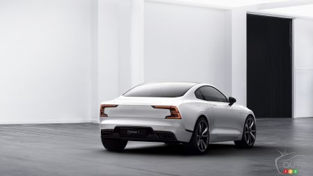 The Polestar 1 will make its North American debut at Pebble Beach