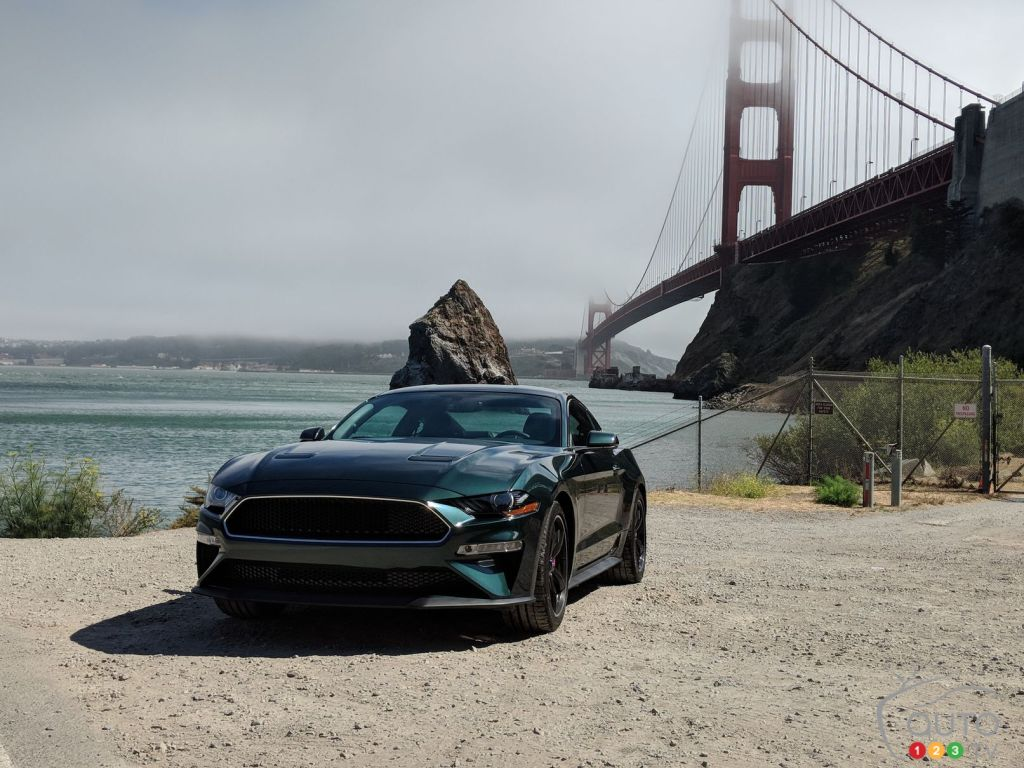 Ford Mustang Bullitt 2019 : Premières impressions