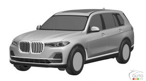 First sketches appear of the new BMW X7