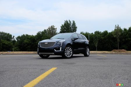 Review Of The 2018 Cadillac Xt5 Luxury Suv Car Reviews Auto123