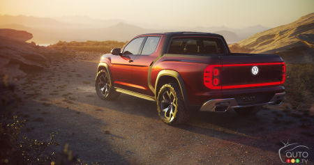 The Tanoak pickup: Volkswagen Still Considering it for North America, But…
