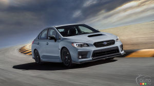 Special-edition 2019 Subaru WRX Raiu to be offered in Canada