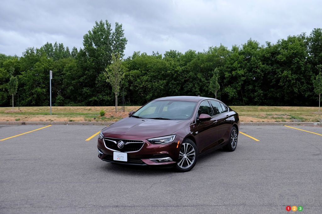 Essai de la Buick Regal Sportback 2018 : À l'intersection du coupé, de la berline et du modèle à hayon