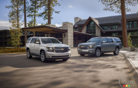 Chevrolet Tahoe and Suburban: even more luxurious in 2019