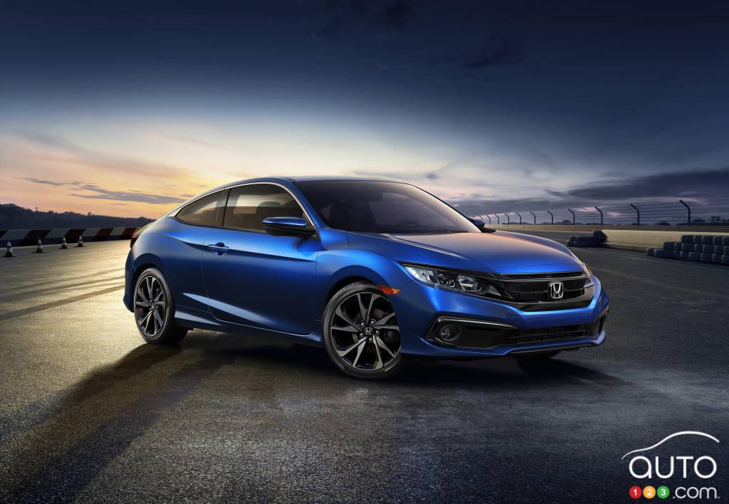 Honda Civic Getting Mild Adjustments For 2019, Adding Spo.