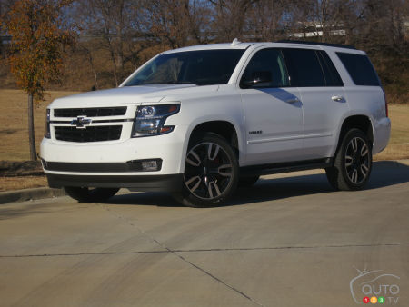 2018 Chevrolet Tahoe RST Review