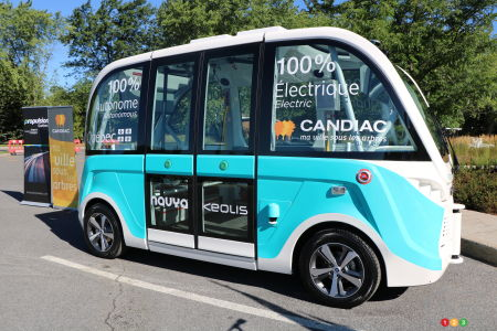 Self-driving shuttle bus coming to Montreal-area city this September