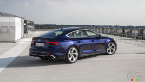 Audi Announces U.S. Details, Pricing for 2019 RS 5 Sportback