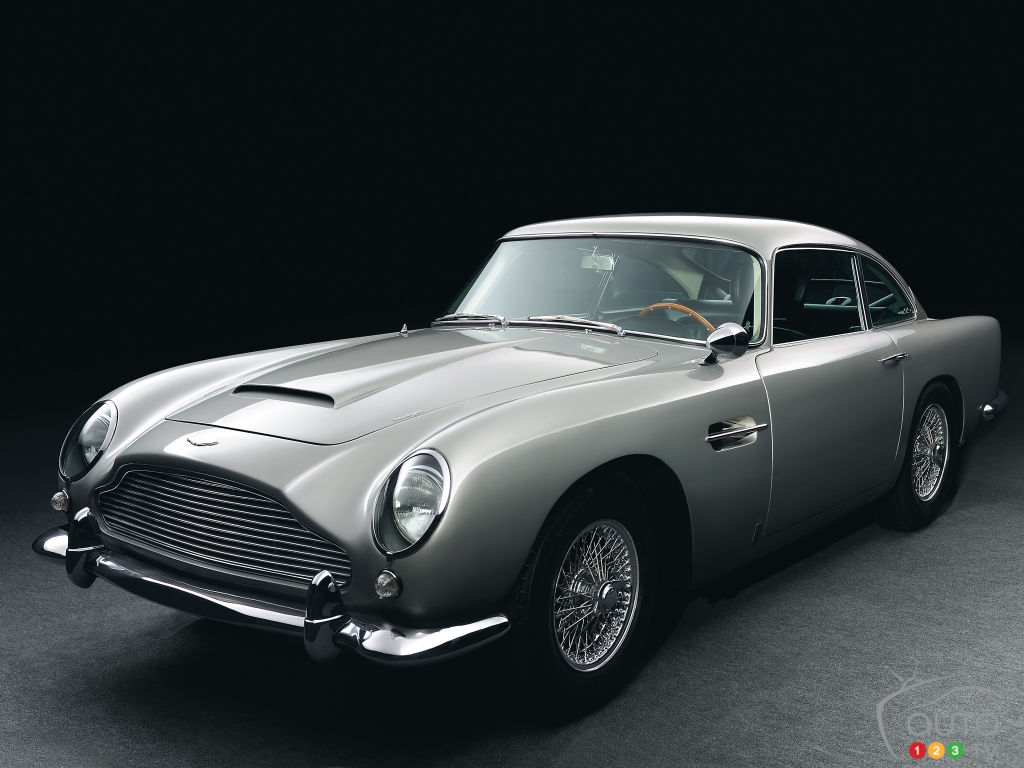 Aston Martin va offrir 25 reproductions de la célèbre DB5 de James Bond