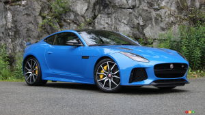 Jaguar F-Type SVR Coupe 2018