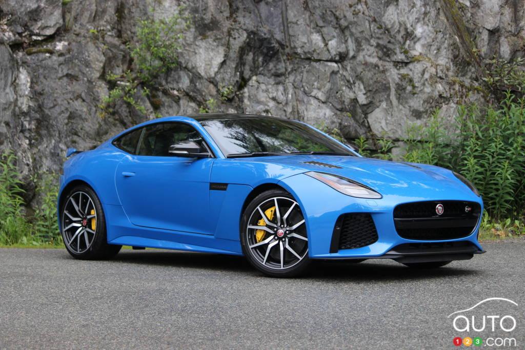 2018 Jaguar F Type SVR Coupe Review: Gobsmacked