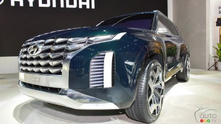 Hyundai Possibly Working on a 2nd Big SUV