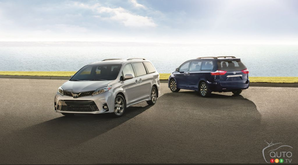 2019 Toyota Sienna: Pricing and Details Announced for Canada
