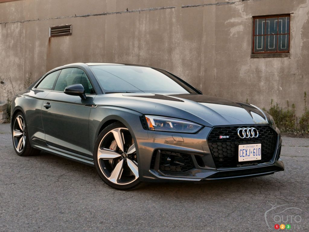 Review Of The 2018 Audi Rs 5 More Road Than Track Car Reviews Auto123