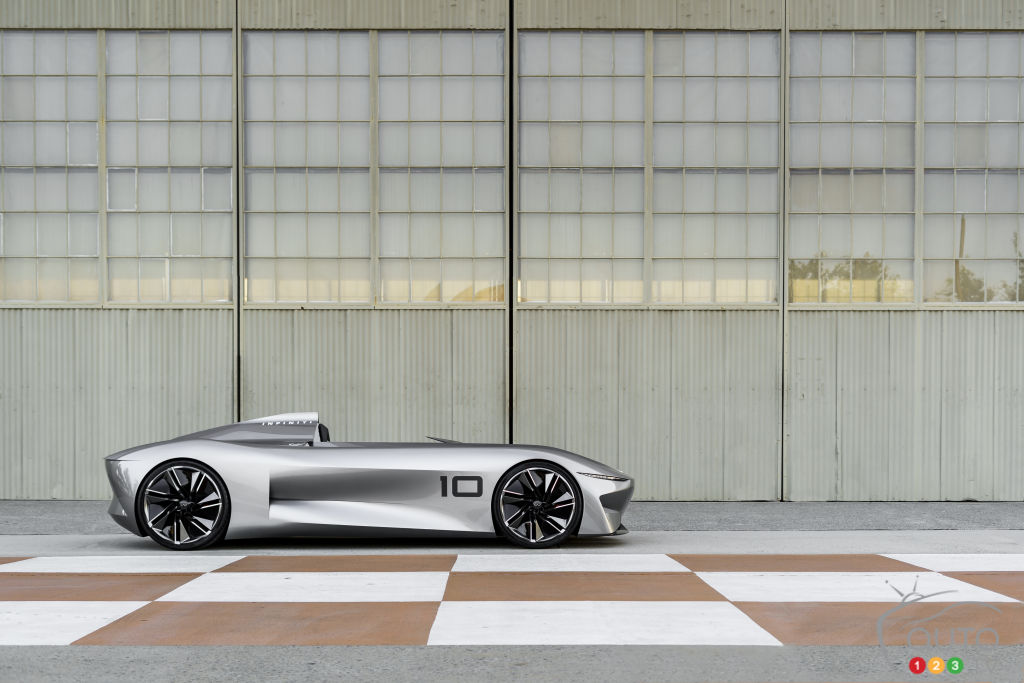 INFINITI'S Prototype 10 Revealed: Futureworld is here