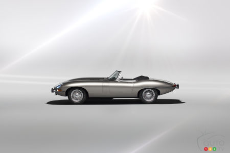 Jaguar Confirms it Will Produce electric-powered classic E-Type