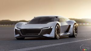 Audi PB 18 e-tron Concept Revealed at Pebble Beach