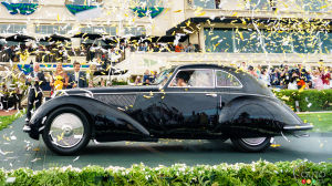A 1937 Alfa Romeo 8C named Pebble Beach 2018 Best of Show