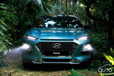 Hyundai Kona New Headlights And Top Iihs Safety Rating Car News