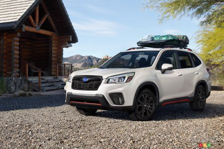 2019 Subaru Forester: Photo Gallery