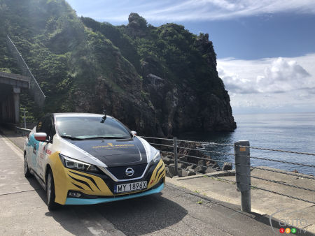 16,000 km, 8 countries in 60 days aboard a Nissan LEAF