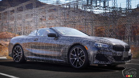 BMW Shows its 8 Series Convertible… in Camouflage
