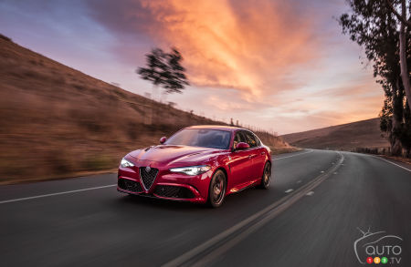 2019 Alfa Romeo Giulia Details Images For Canada Car News Auto123