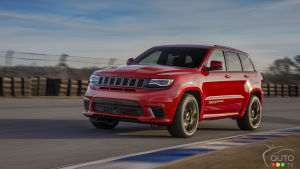 Jeep Grand Cherokee 2019 : mises à jour de technologies