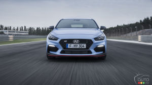 A Hyundai Elantra GT N-Line to be available here in 2019