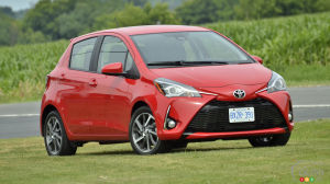 Review of the 2018 Toyota Yaris: Cutting Edge… for 2008