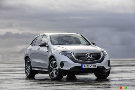 Mercedes-Benz EQC: The all-electric crossover launches the automaker's EQ banner