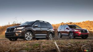 2019 Subaru Ascent: Photo Gallery
