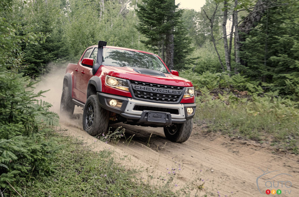 Chevrolet Colorado ZR2 accueille le Bison