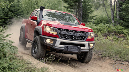 Chevrolet Colorado ZR2 welcomes the Bison