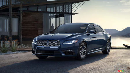 2019 Lincoln Continental to get upgraded tech, light price bump