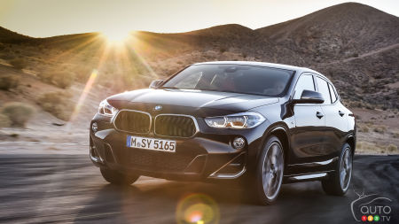 BMW introduces the 2019 X2 M35i