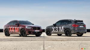 BMW shows its future X3 M and X4 M SUVs