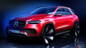 Here's what the next Mercedes-Benz GLE will look like