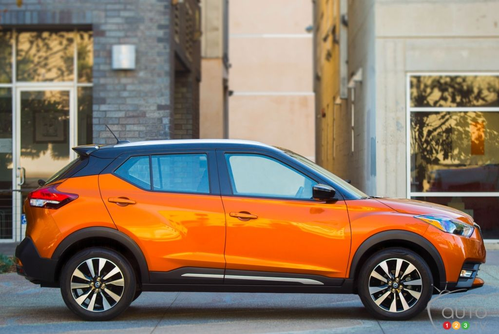 2018 Nissan Kicks, Sentra Earn Top Safety Nods from IIHS