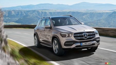 2020 Mercedes-Benz GLE Gets Revealed in Full