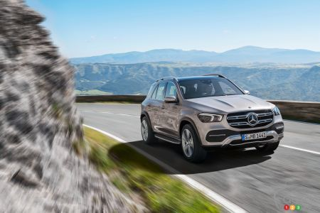 Le Mercedes-Benz GLE 2020 se montre