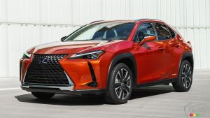 2019 Lexus UX officially presented for Canada
